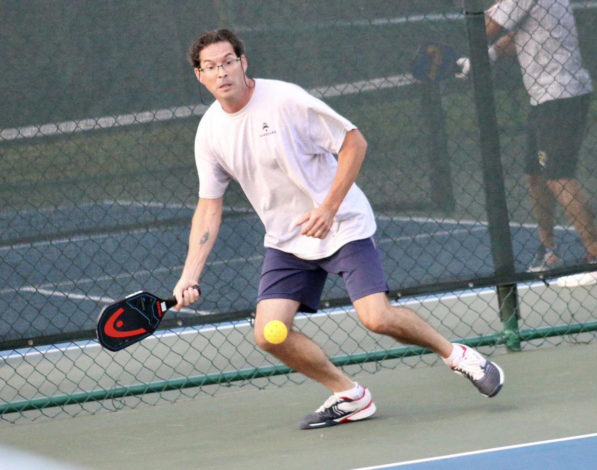Villagers compete in pickleball tourney