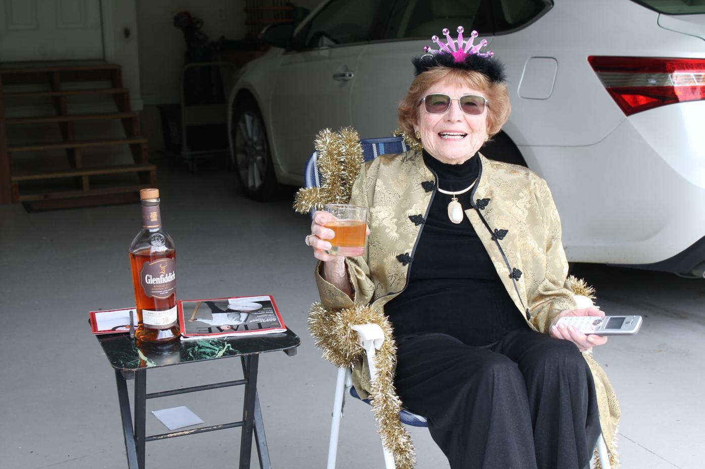 An unconventional birthday celebration