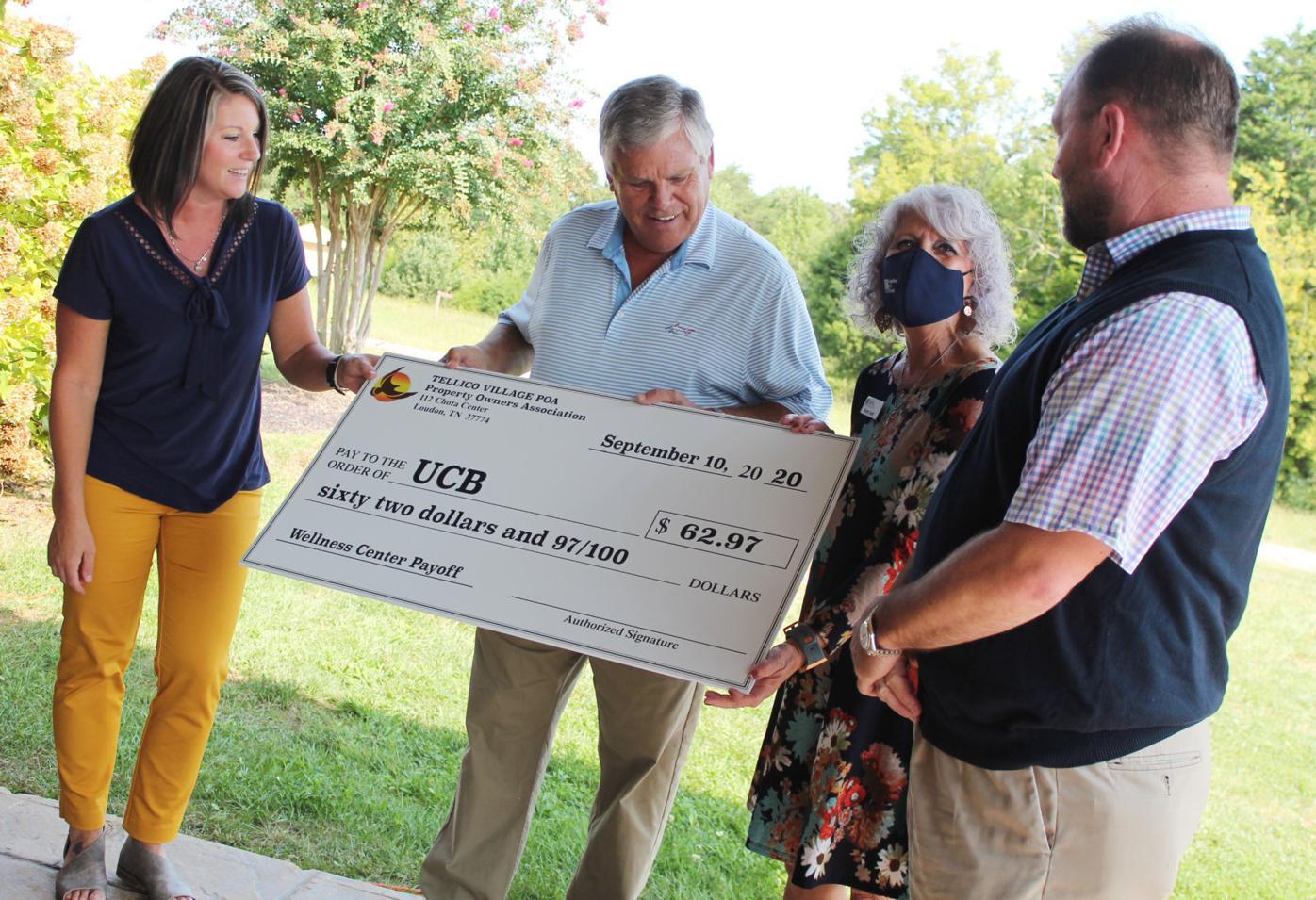 POA pays off Wellness Center debt