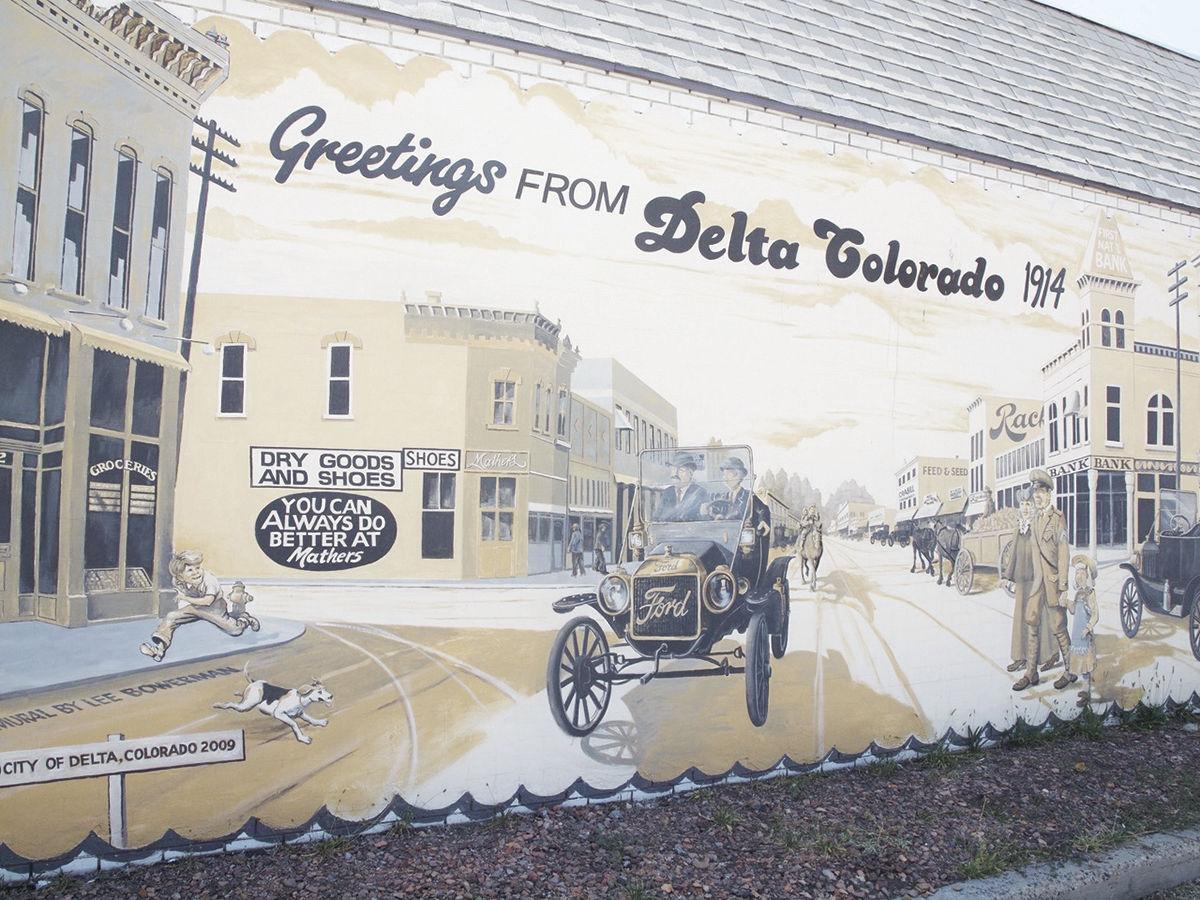 Delta murals