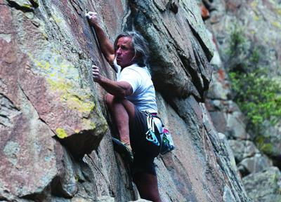 Ophir Wall: a trad climber's paradise