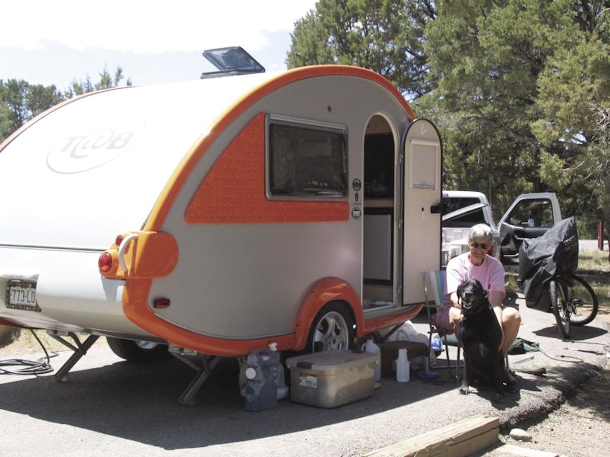 Ridgway State Park camping