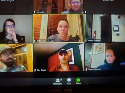 virus meeting