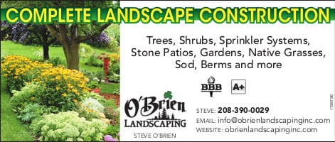 O'Brien Landscaping - O'Brien Landscaping Tetonvalleynews.net