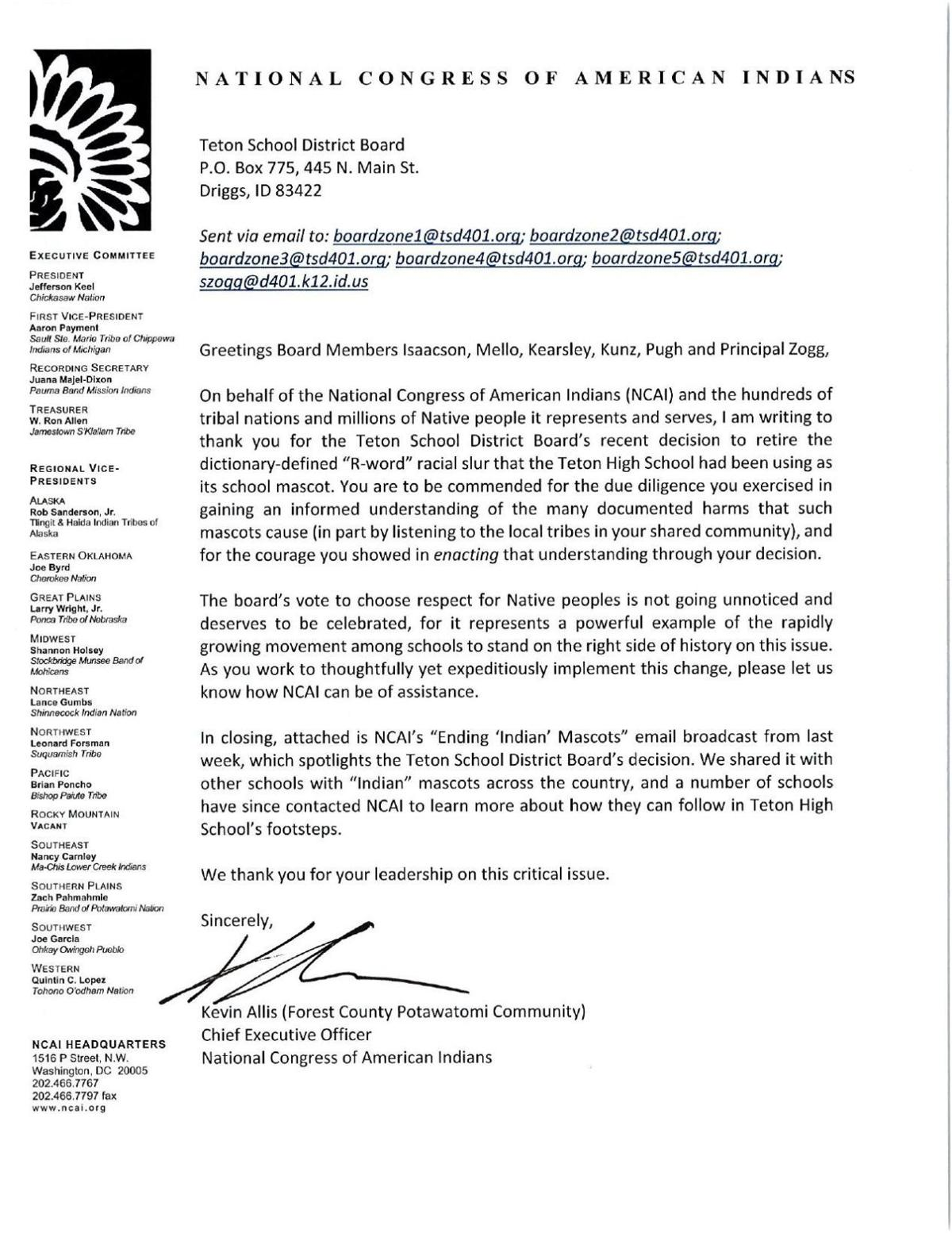 NCAI Letter to Teton School District Board 8-7-19.pdf