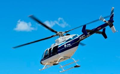 Emergency helicopter file photo
