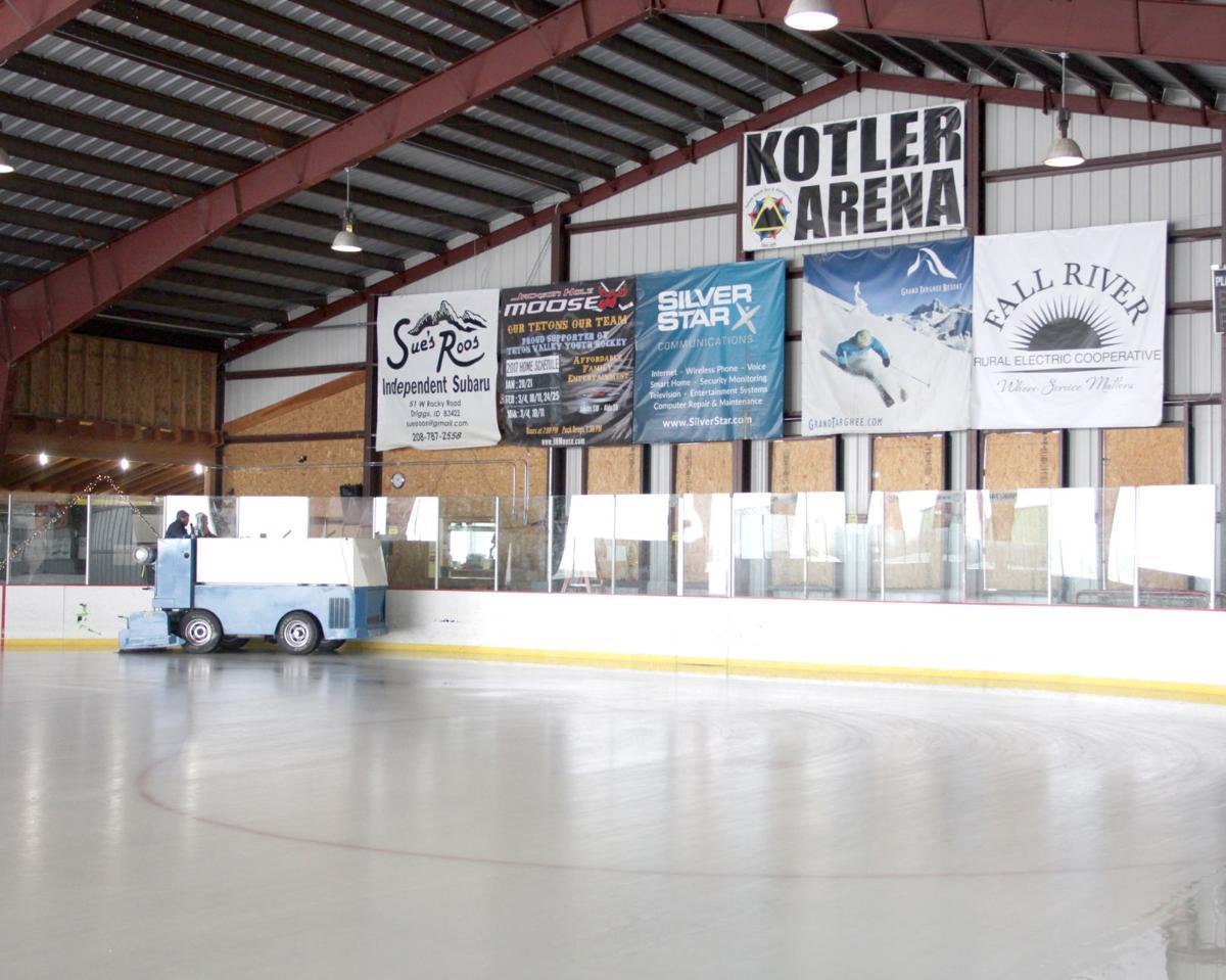 teton valley foundation enters new era at the kotler ice arena