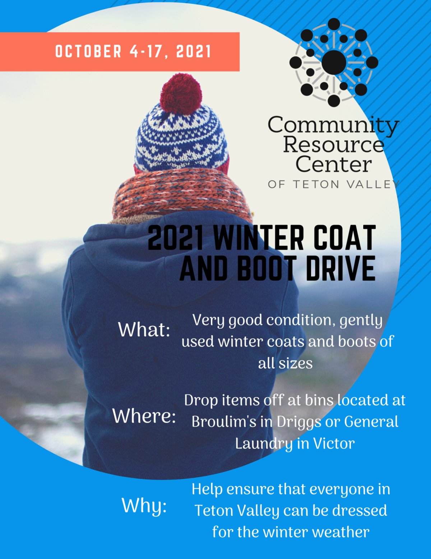 2021 Coat Drive Flyer