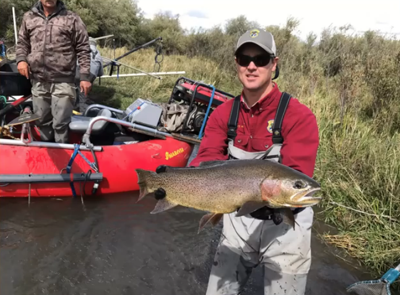 Teton river trout