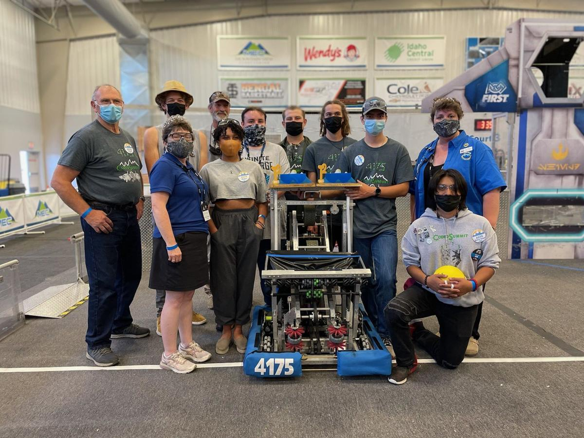 Programmed for success: THS Robotics wins Idaho FRC regional competition