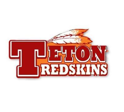 Teton Redskins logo