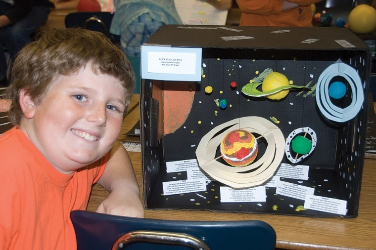 Fourth graders design the solar system   Photo Gallery ...