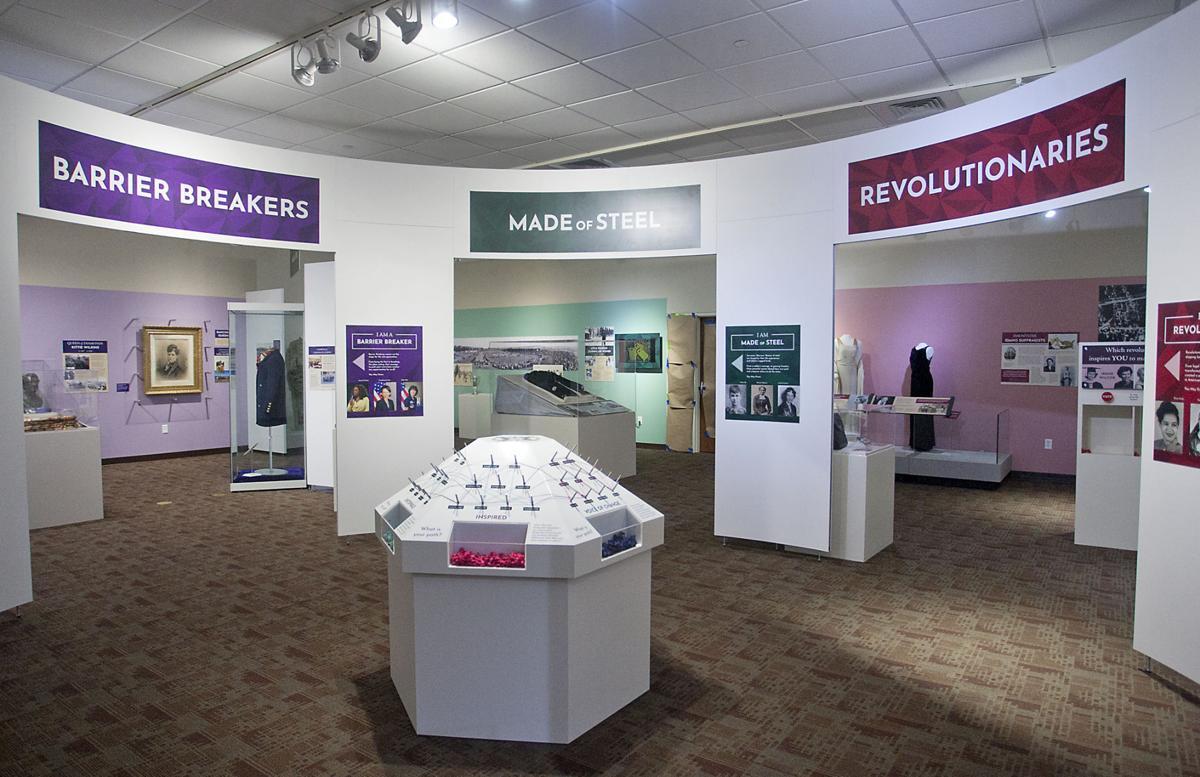 Trailblazing Women museum exhibit