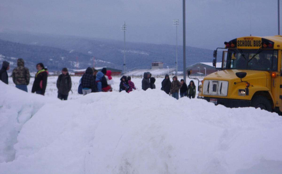 School Day Snow