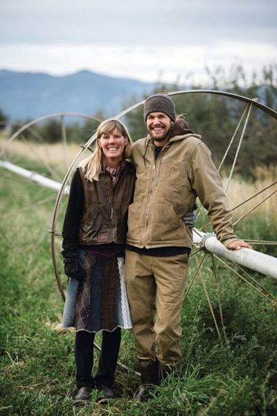 Erica Escholtz and Ken Michael, owners of Full Circle Farm.