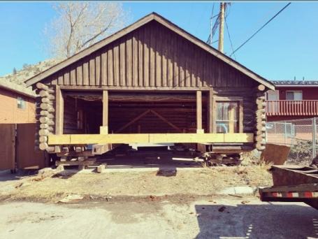 Coey Cabin Garage