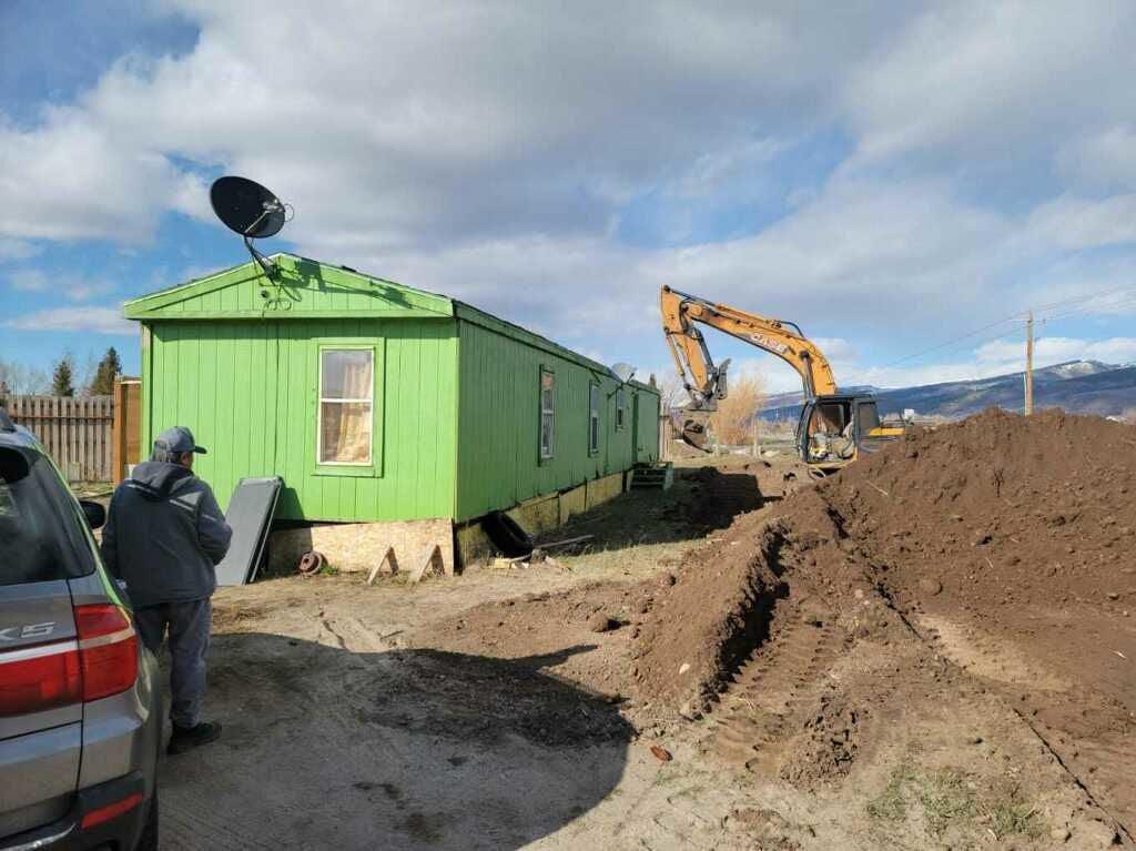 Rocking H excavation