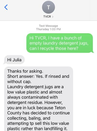 Text to Recycle TVCR