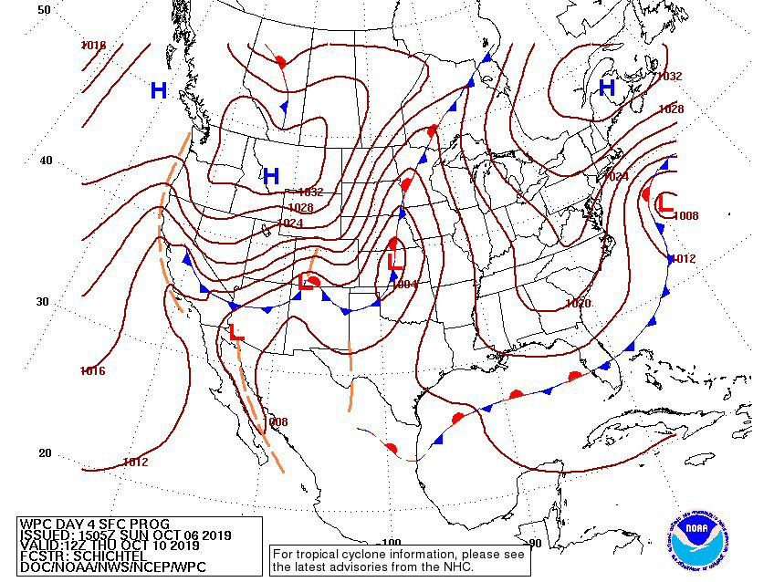 Surface Analysis Forecast