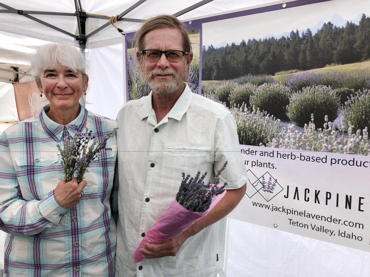 Jackpine Lavender, Ann and Jeff McMullen