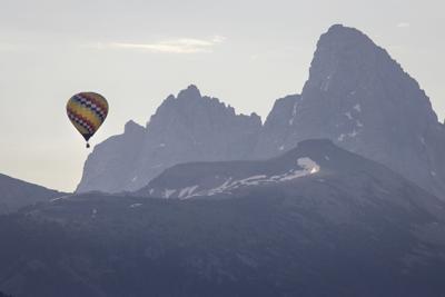Teton Valley Hot Air Balloon Rally in Driggs, Idaho