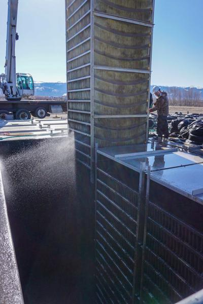wastewater cleaning