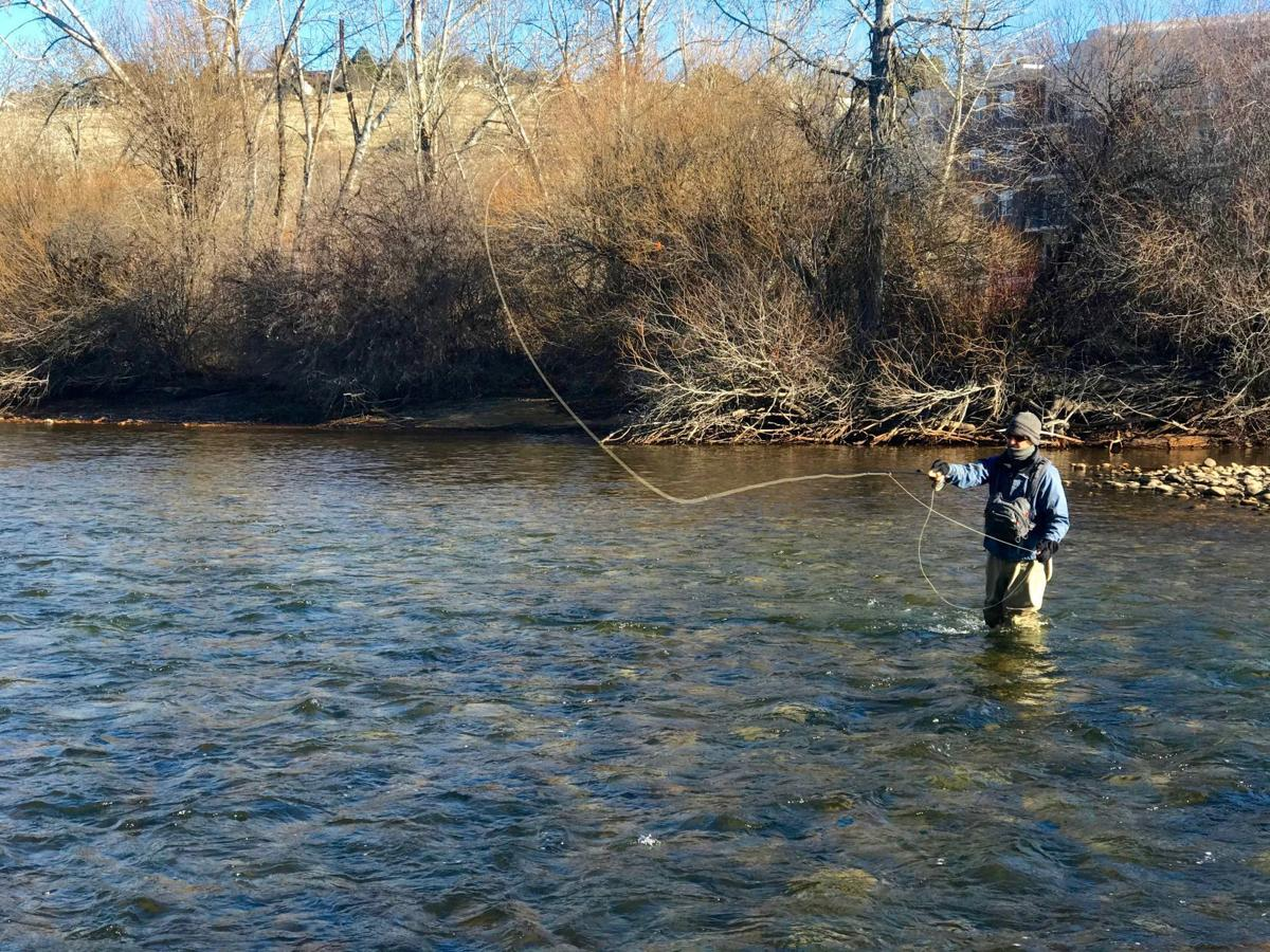fly fishing by Pete Zimowsky