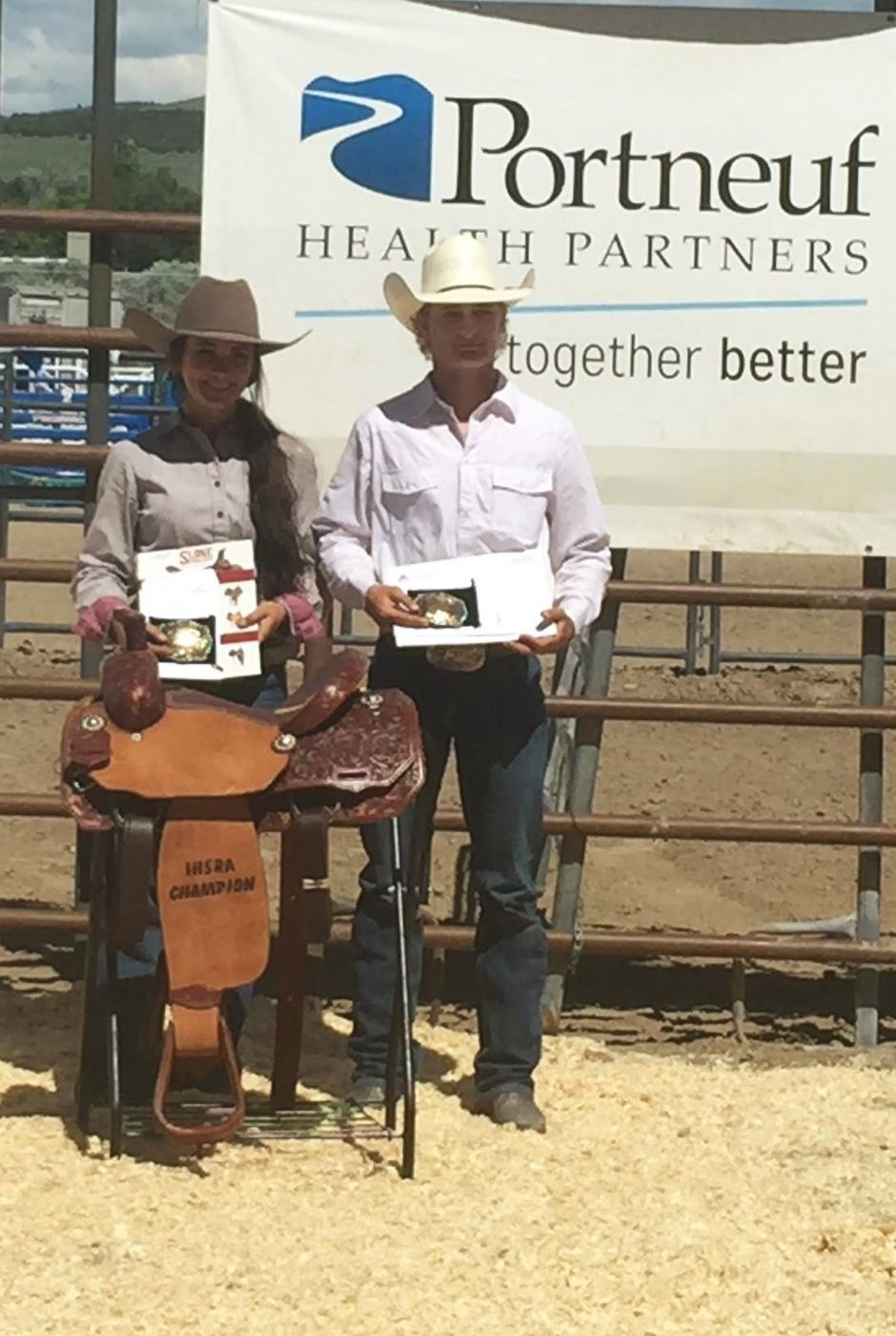Breanna Jenkins, Cooper Cooke state rodeo