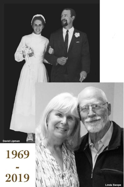 Pete and Mary Lou Oslund celebrate 50 years