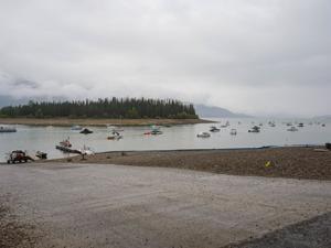 Drought closes Jackson Lake marinas early