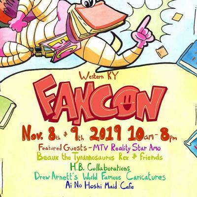 Western Kentucky FanCon set for Nov. 8-9