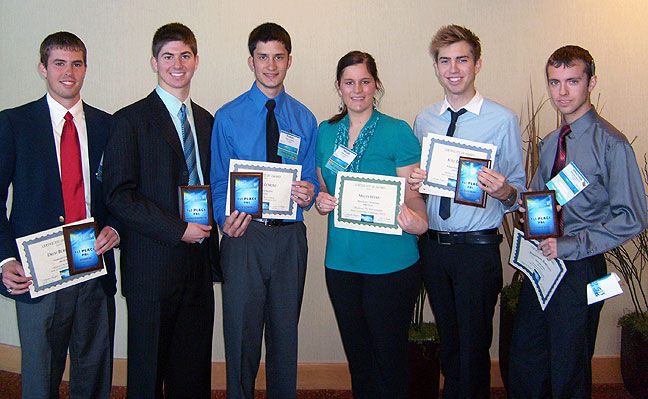 OSU students receive top honors