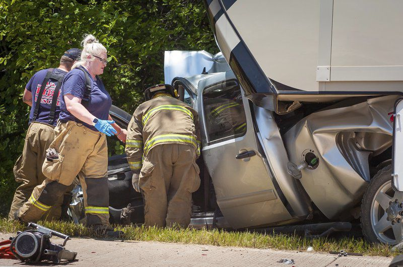 One killed, two injured in Thursday collision near Asher