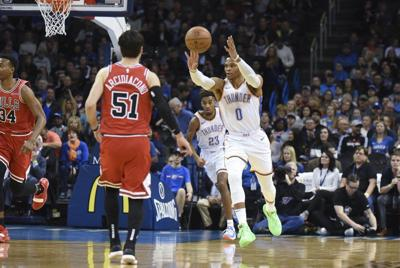 Westbrook orchestrates OKC's win over Magic