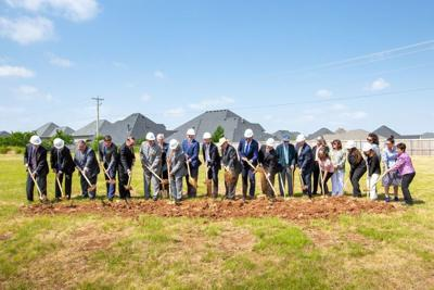 Chickasaw Nation Gov Anoatubby leads groundbreaking for Chickasaw Community Bank, Oklahoma City