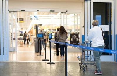 Walmart to limit shoppers allowed in stores