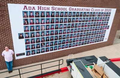 AHS Class of 2020 recognized with massive banner