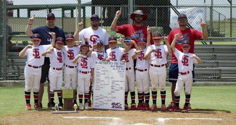 Byng Southern Legends win 8U state title