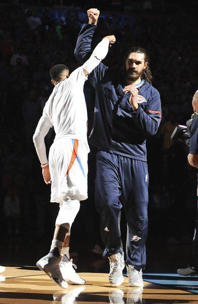 Where does Steven Adams fit in Thunder's plans?