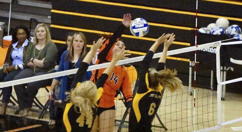 ECU volleyball team blanked by Fort Hays State