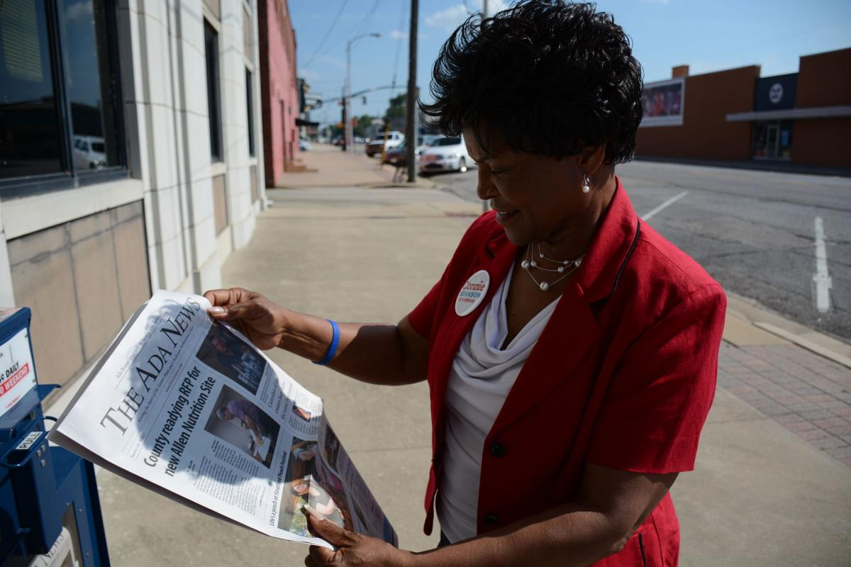 Connie Johnson talks revenue woes, criminal justice reform