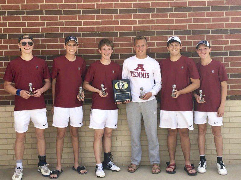 Ada boys tennis team wins Yukon tournament title