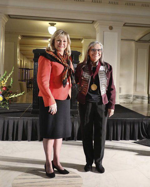 Chickasaw artist Margaret Wheeler honored with Governor's Arts Award