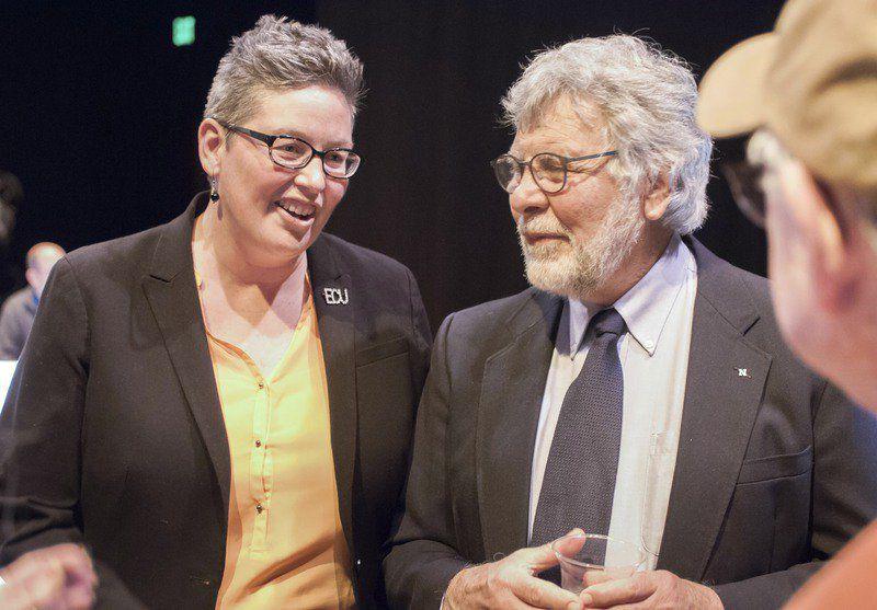 ECU's longest-serving professor, Shirley Mixon, becomes first Trailblazer Award recipient