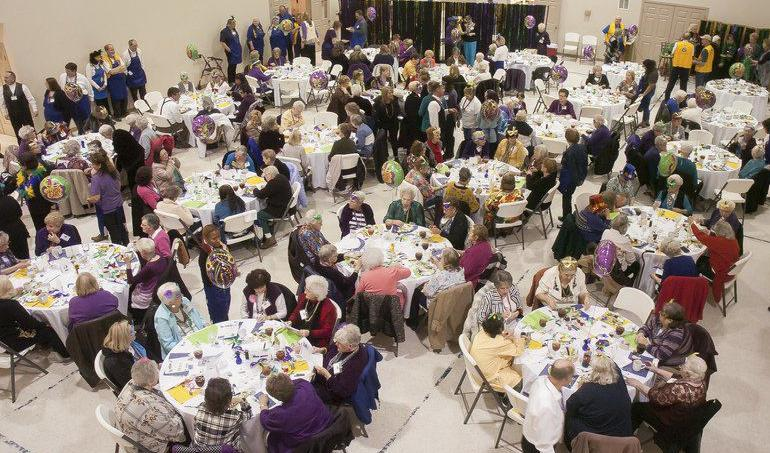 Ada Lions join Sisters Hand-in-Hand to celebrate 100 years of service