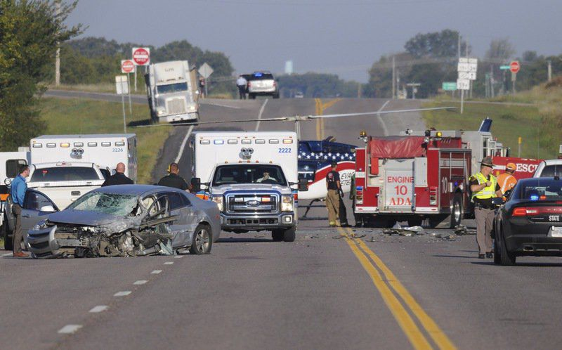 Two injured in wreck; one critical