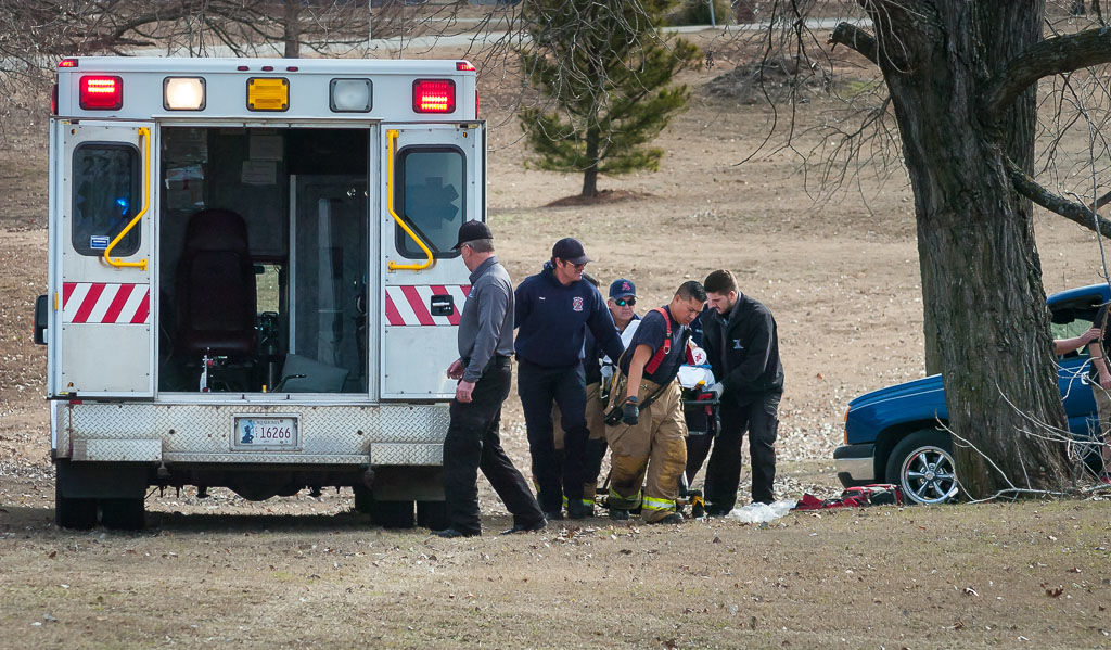 Woman injured in fall from tree in Byng