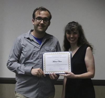 Oliver receives computer science award