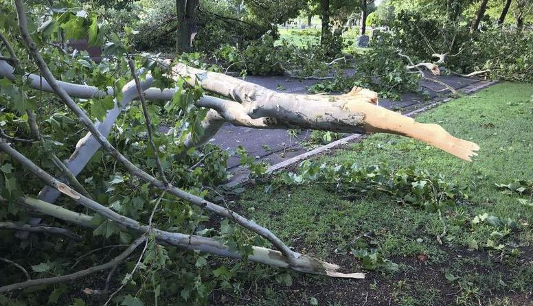 Par for the course: Oklahoma storm damage
