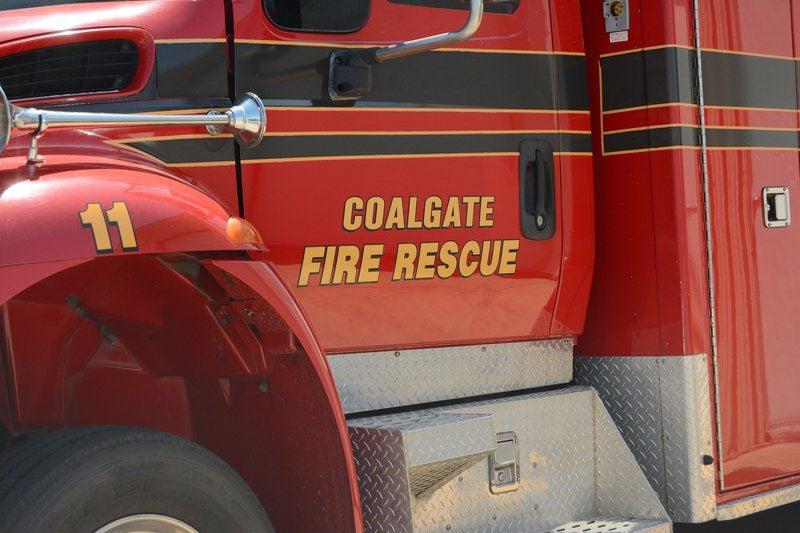Coalgate woman injured in wreck